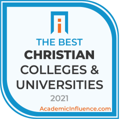 Badge for the Best Christian Colleges and Universities