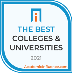 Badge for the Best Colleges and Universities