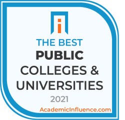 Badge for the Best Public Colleges and Universities