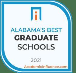 Alabama's Best Grad Schools 2021 badge