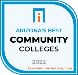 Arizona's Best Community Colleges 2021 badge