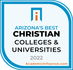 Arizona's Best Christian Colleges and Universities 2021 badge