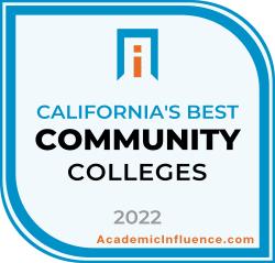 California's Best Community Colleges 2021 badge