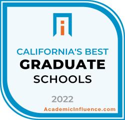 California's Best Grad Schools 2021 badge