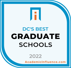 DC's Best Grad Schools 2021 badge
