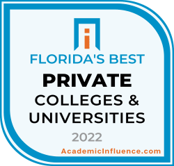 Florida's Best Private Colleges and Universities 2021 badge
