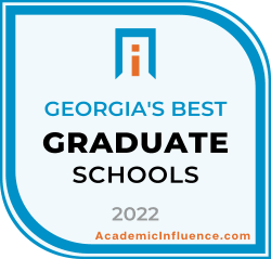 Georgia's Best Grad Schools 2021 badge