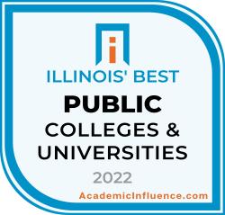Illinois's Best Public Colleges 2021 badge