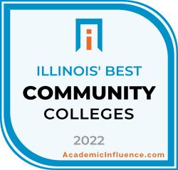Illinois's Best Community Colleges 2021 badge