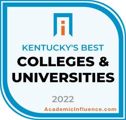 Kentucky's Best Colleges and Universities 2021 badge