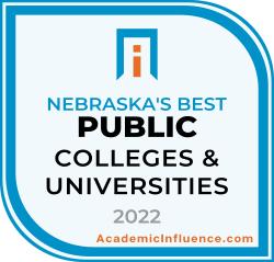 Nebraska's Best Public Colleges 2021 badge