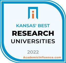 Kansas's Best Research Universities 2021 badge