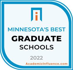 Minnesota's Best Grad Schools 2021 badge