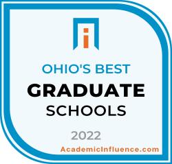 Ohio's Best Grad Schools 2021 badge