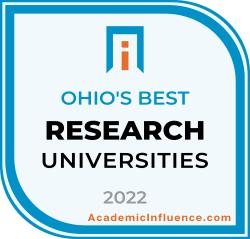 Ohio's Best Research Universities 2021 badge