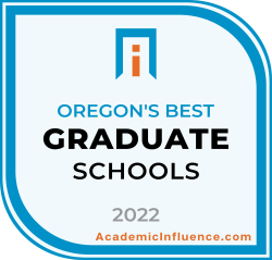 Oregon's Best Grad Schools 2021 badge