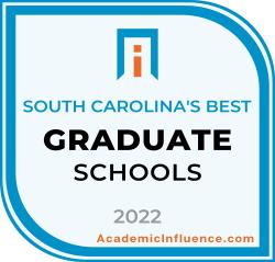 South Carolina's Best Grad Schools 2021 badge