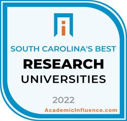 South Carolina's Best Research Universities 2021 badge