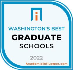 Washington's Best Grad Schools 2021 badge