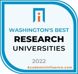 Washington's Best Research Universities 2021 badge