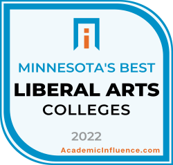 Minnesota's Best Liberal Arts Colleges and Universities 2021 badge