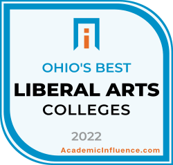Ohio's Best Liberal Arts Colleges and Universities 2021 badge