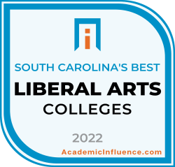 South Carolina's Best Liberal Arts Colleges and Universities 2021 badge