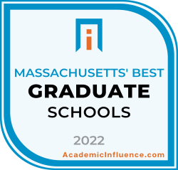 Massachusetts's Best Grad Schools 2021 badge