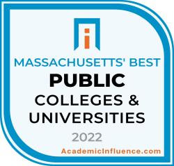 Massachusetts's Best Public Colleges 2021 badge