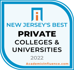 New Jersey's Best Private Colleges and Universities 2021 badge