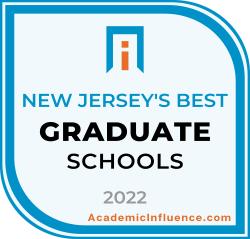 New Jersey's Best Grad Schools 2021 badge