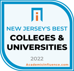 New Jersey's Best Colleges and Universities 2021 badge