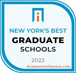 New York's Best Grad Schools 2021 badge