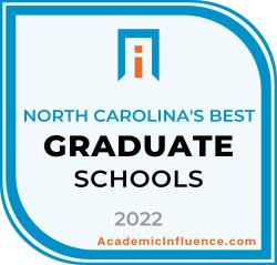 North Carolina's Best Grad Schools 2021 badge