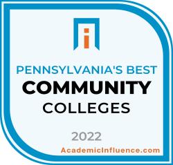 Pennsylvania's Best Community Colleges 2021 badge