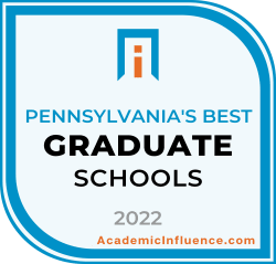 Pennsylvania's Best Grad Schools 2021 badge
