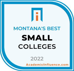 Montana's Best Small Colleges and Universities 2021 badge