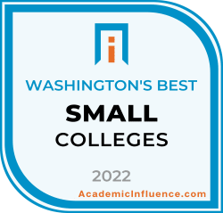Washington's Best Small Colleges and Universities 2021 badge