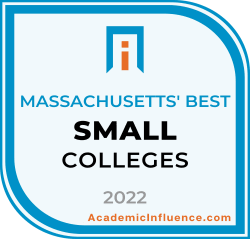 Massachusetts's Best Small Colleges and Universities 2021 badge