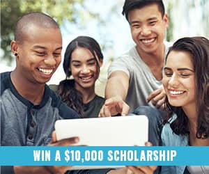Enter to win a $10,000 scholarship!