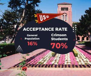 Crimson Education - Acceptance Rate Facts - USC