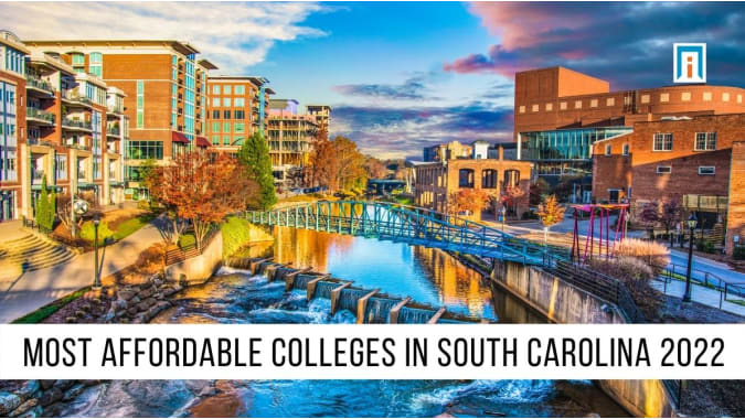 South Carolina's  Most Affordable Colleges & Universities of 2021