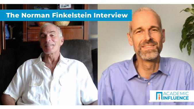 How true academic freedom creates intellectual conflict   Interview with Dr. Norman Finkelstein