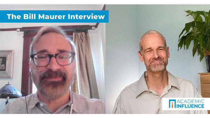 How money, cryptocurrency, and digital financial systems affect us   Interview with Dr. Bill Maurer