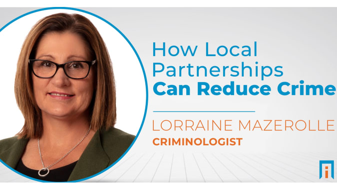 How local partnerships can reduce crime | Interview with Dr. Lorraine Mazerolle