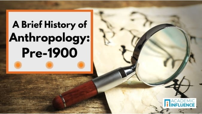 anthropology-history-pre-1900