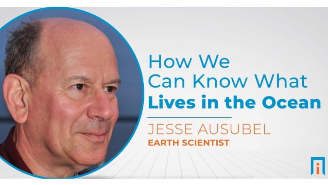 How we can know what lives in the ocean   Interview with Jesse Ausubel