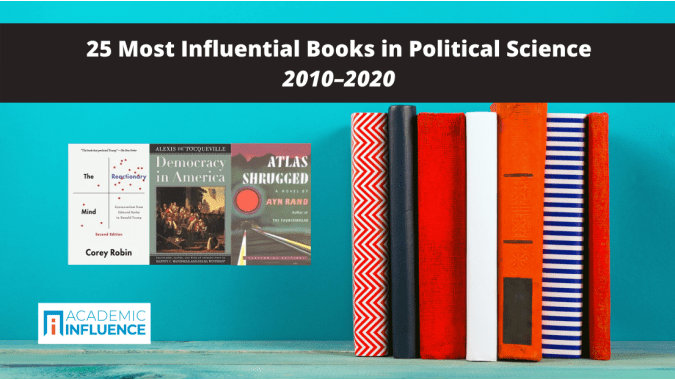25 Most Influential Political Science Books 2010–2020