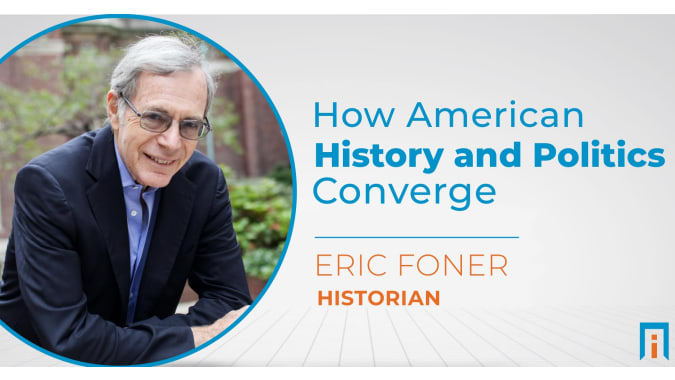 How American history and politics converge   Interview with Dr. Eric Foner