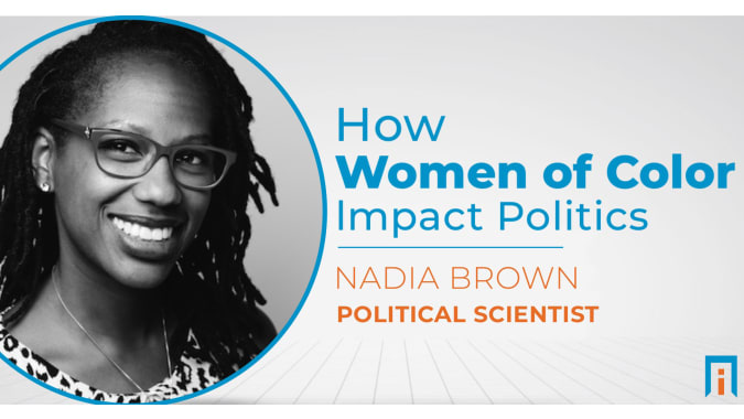 How women of color impact politics | Interview with Dr. Nadia Brown